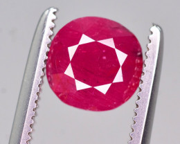Untreated 1.55  Ct Gorgeous Color Natural Ruby From Afghanistan