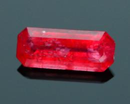 Rare Rhodonite 1.32 ct Great Rasberry Color Africa SKU 3