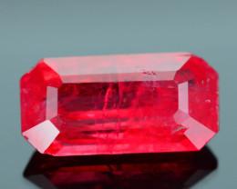 Rare Rhodonite 1.63 ct Great Rasberry Color Africa SKU 3