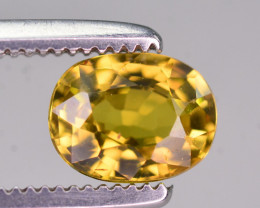 0.85 Ct Gorgeous Color Natural Chrysoberyl. RA
