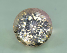 NR Auction ~ 21.90 Carats Pink Color Round Cut Kunzite Gemstone From Afghan