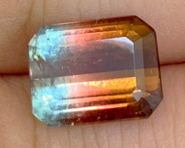 4.42 cts Bicolor Tourmaline Gemstone