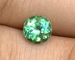 1.52 cts Dark Mint Green Tourmaline - GLOWING!