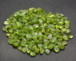 No Reserve 240 Carats Polished Green Peridot Tumbled Crystals