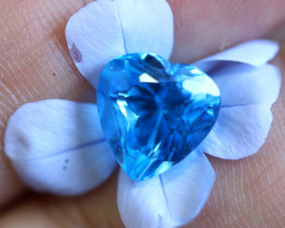 5.08 CTS   ELECTRIC BLUE TOPAZ  STUNNING  [GERMANY TREATED][S-SAFE205]