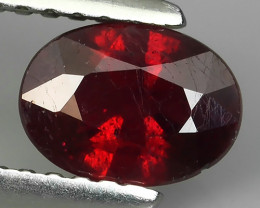 1.25 CTS GENUINE NATURAL ULTAR RARE LUSTROUS RED RUBY MOZAMBIQ