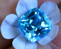 5.78 CTS ELECTRIC BLUE TOPAZ  STUNNING  [GERMANY TREATED][S-SAFE211]