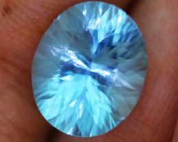 8.279 carats Swiss Blue Topaz ANGC - 776