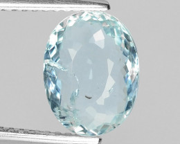 2.16 CT NATURAL AQUAMARINE GOOD CUT GEMSTONE AQ26
