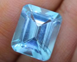 5.959 carats Swiss Blue Topaz ANGC - 777