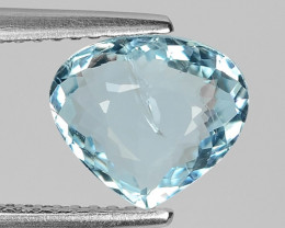 1.64 CT NATURAL AQUAMARINE GOOD CUT GEMSTONE AQ28
