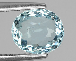 1.65 CT NATURAL AQUAMARINE GOOD CUT GEMSTONE AQ30