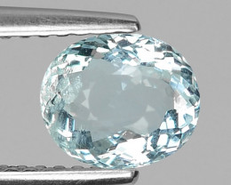 1.31 CT NATURAL AQUAMARINE GOOD CUT GEMSTONE AQ32