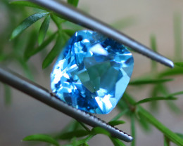 5.60 CTS ELECTRIC BLUE TOPAZ  STUNNING  [GERMANY TREATED][S-SAFE222]