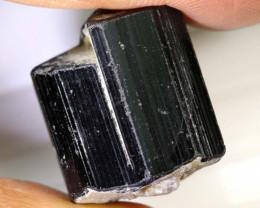 55.10-CTS TOURMALINE BLACK NATURAL ROUGH RG-3273