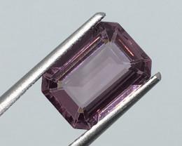 ⭐️SALE ! 3.19 Carat VVS CERT. Spinel Pinkish Purple Unheated Burmese Beauty