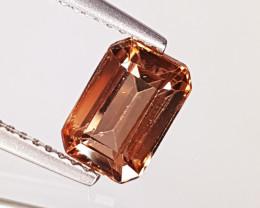 "2.19 ct "" Top Quality Gem "" Amazing Emerald Cut Natural Zircon"