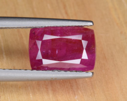 Natural Ruby 2.84 Cts, NO Heat from Afghanistan