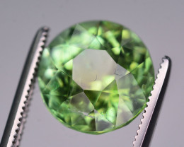 4.65 Ct Natural Lagoon Green Tourmaline From Jaba Mine Afghanistan  . RA