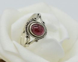 CERTIFIED  RING 925 STERLING SILVER 2.29 NATURAL GEMSTONE JE1252