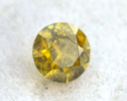 0.71 Carat Demantoid Garnet -- Great Fire!!