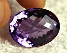 22.16 Carat VVS Brazil Purple Amethyst - Gorgeous
