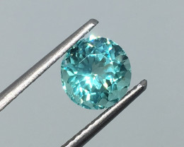 1.55 Carat Apatite Neon Paraiba Color - Unheated - Amazing Quality!