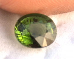 3.58 Carat Tourmaline -- Very Fine Oval Green Tourmaline