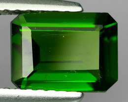 1.65 CTS NATURAL ULTRA RARE CHROME TOP GREEN DIOPSIDE RUSSIA~