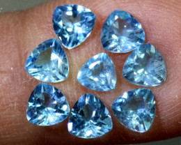 3.20-CTS  SWISS BLUE TOPAZ FACETED GEMSTONES  CG-2600