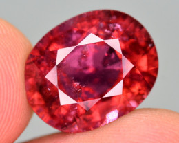 9.10  Ct Marvelous Color Natural Rubelite Tourmaline