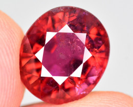 5.70  Ct Marvelous Color Natural Rubelite Tourmaline