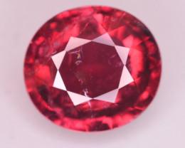 3.35  Ct Marvelous Color Natural Rubelite Tourmaline
