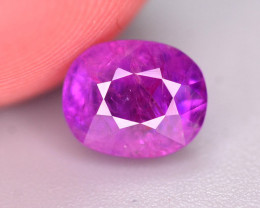 Superb Color 1 Ct Natural ruby From Afghanistan