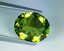 5.54 ct Exclusive Gem   Amazing Oval Cut Top Luster Perido