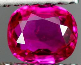 NR!! Certified Ruby !!! 0.52 ct AAA Pinkish Red !!! Burma