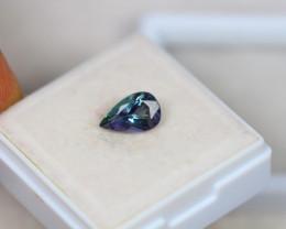 1.12ct Greenish Violet Blue Tanzanite Oval Cut Lot V2881