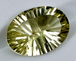10Crt Lemon Quartz Special Cut Best Grade Gemstones JI128