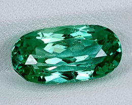 4.10Crt Green Spodumene  Best Grade Gemstones JI128