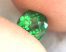 1.14 Carat Tsavorite Garnet -- Super Rich Forest Green Stone!