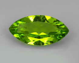 3.03  Cts.Magnificient Top Sparkling Intense Green Peridot~