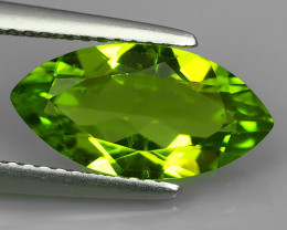 2.72  Cts.Magnificient Top Sparkling Intense Green Peridot~