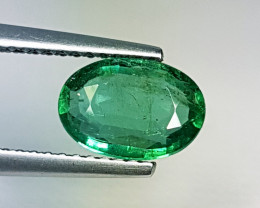 "1.26 ct "" Top Garde Gem "" Awesome Oval Cut Natural Emerald"