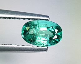 "0.75 ct "" Top Exclusive Gem ""  Amazing  Oval Cut Natural Emerald"