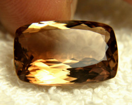 16.28 Carat Brazilian VVS Golden Topaz - Gorgeous