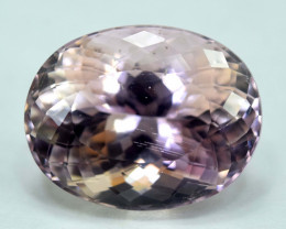 NR Auction - 22.20 cts Natural Pink Color Kunzite Gemstone