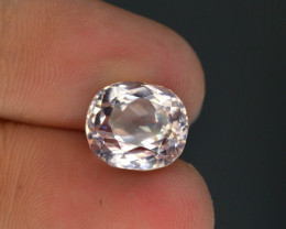 6.35 Carat Natural Light Pink Color Himalayan Kunzite - Superb