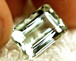 CERTIFIED - 8.258 Carat Green South American VVS/VS Beryl - Gorgeous