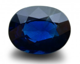 4.07 ct GIA Certified Sapphire