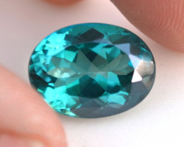 12.81 Carat Topaz -- Great Sea Green Mystic Topaz